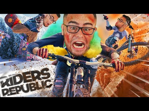 Playing RIDERS REPUBLIC For The FIRST TIME (Extreme Sports)