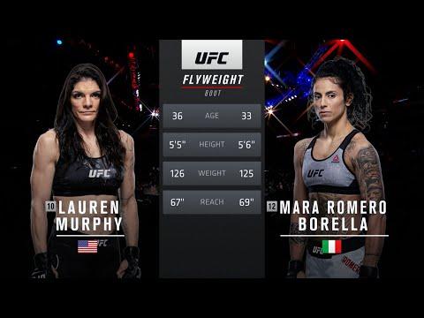 UFC 266 Free Fight: Lauren Murphy vs Mara Romero Borella