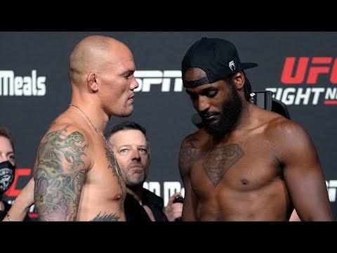 UFC Vegas 37: Weigh-in Faceoffs