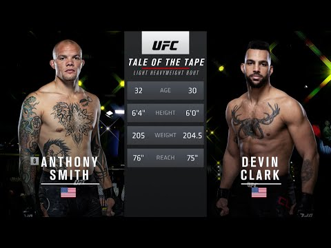 UFC Vegas 37 Free Fight: Anthony Smith vs Devin Clark