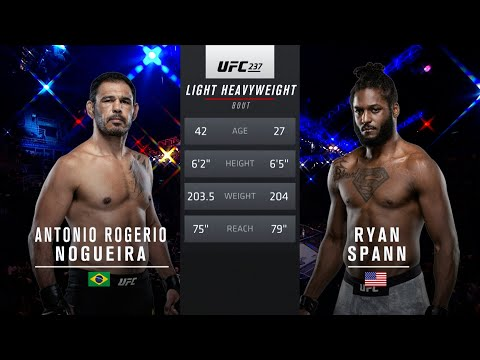 UFC Vegas 37 Free Fight: Ryan Spann vs Antonio Rogerio Nogueira