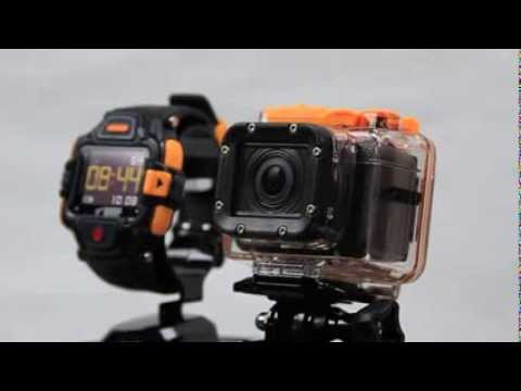 WASPcam action-sports camera: How to … Pair Wrist Remote and GIDEON camera