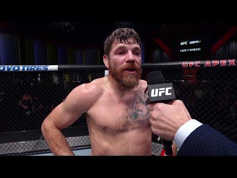 Jim Miller Octagon Interview | UFC Vegas 40