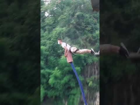bungee jumping丨Extreme sports  #Bungee jumping