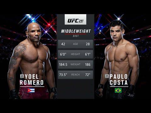 UFC Vegas 41 Free Fight: Paulo Costa vs Yoel Romero